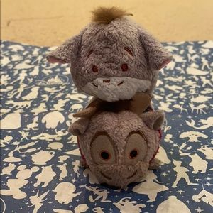 Eeyore & Sven Mini Tsum Tsums Amazing Condition!